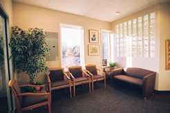Jeannette Grauer's waiting room