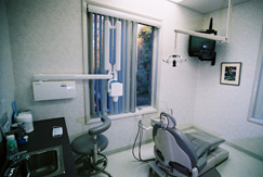 Jeannette Grauer's dental room
